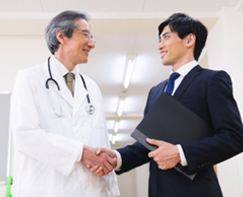 Medical facility establishment support business