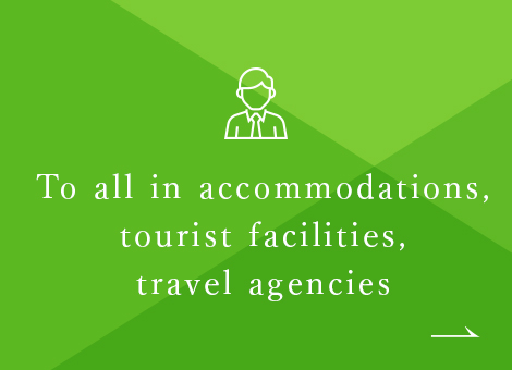 Accommodations, Tourist facilities, to Travel agencies